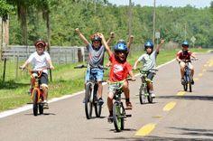 Los paseos en bici a Lake Rosalie son súper divertidos!