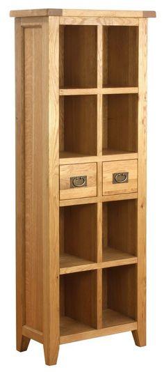 Besp Oak Vancouver Pee Tall Bookcase