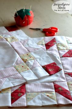 """FREE Block of the Month! Blog hops, prizes, lots more. It's going to be """"sew"""" much fun! Just be sure to sign up here! http://jacquelynnesteves.com/sewing-quilting/sew-sweet-simplicity-free-block-of-the-month/  #sewsweetsimplicity"""