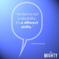 I have always thought this!!!! 25 People Explain Autism to Someone Who's Unfamiliar With It