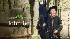 """""""Happy birthday to the oh-so talented AKA 's lovable Young Ian! Via Outlander Starz . Outlander Novel, Outlander Casting, Happy Birthday John, Popular Book Series, John Bell, Drums Of Autumn, Epic Story, All Episodes, Diana Gabaldon"""