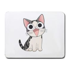 Chis Sweet Home Cute Cat Mouse Pad Mat Mousepad in Collectibles, Animation Art & Characters, Japanese, Anime Chi Le Chat, Chi's Sweet Home, Cat Mouse, All About Cats, Mousepad, My Hero, Cats And Kittens, Cat Lovers, Kawaii