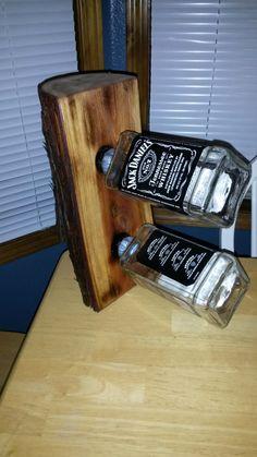 Wine/Liquor Bottle Holder The Jack Stand by MacsCustomCreations, $125.00