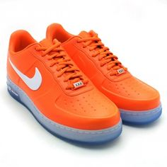 """new product 280ad f50f5 Nike Air Force 1 Low Foamposite """"Safety Orange"""" Sneakers Style, How To Wear"""