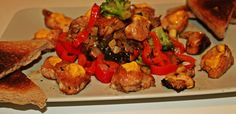 Magic on a plate. Chicken Squares, Kung Pao Chicken, Protein, Magic, Plates, Make It Yourself, Cooking, Ethnic Recipes, Food