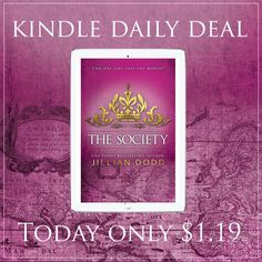 Get The Society! — Just a quick note to let you know that The Society is a Kindle Daily Deal today!