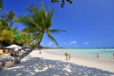 Chaweng Beach is the longest and most lively beach on Koh Samui in the Golf of Thailand.