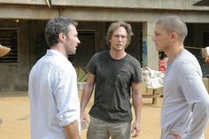 Prison Break - Whistler, Mahone and Scofield in Sona