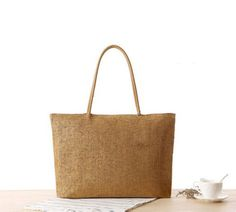 Straw Welcome bag