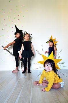 DIY: halloween headbands over at Prudent Baby