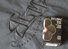 DIY #3 : Teindre des vieux draps pour les recycler en rideaux !