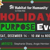 Causes event in Onalaska, WI by Habitat for Humanity-La Crosse Area and Habitat ReStore La Crosse on Saturday, December 14 2019 Habitat Restore, Habitat For Humanity, Facebook Sign Up, Habitats, Repurposed, Restoration, Join, Holidays, Learning
