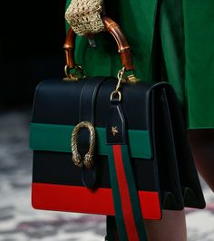 Check out Gucci's Spring 2016 bags, straight from the Milan runway.