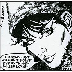 Modesty Blaise created by writer Peter O'Donnel. Artist Enrique Badia Romero.