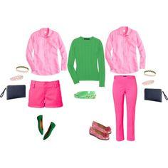 Classic Preppy Fashion Colors