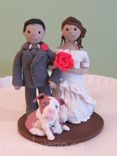 July Bride and Groom Topper + GIVEAWAY! - Cakes by Erin