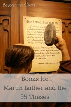 Books for Martin Luther and the 95 Theses | www.beyondtheinspiration.com