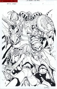 Kwan Chang :: For Sale Artwork :: Battle Chasers by artist Joe Madureira