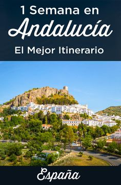 The best itinerary for a week in Andalucia. What to do during your 7 or 8 days trip to Andalusia + Accomodations suggestions + Best tips for 1 week stay. Everything you need to know to plan tour trip to this beautiful region located in the south of Spain. Cadiz, Andalusia Spain, Andalusia Travel, Malaga Spain, South Of Spain, Destination Voyage, Spain And Portugal, Menorca, Europe Destinations