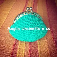 Portamonete uncinetto #portamonete #uncinetto #crochet #purse