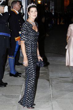 La princesa de Hannover representó a la familia real de Mónaco en la cena previa a la boda real de Guillermo de Luxemburgo #grimaldi #monaco #royals