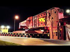 824 Tons Heavy Transport | Transformer High Girder Bridge - YouTube