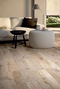 Tiled Hallway, Hallway Flooring, Wood Effect Porcelain Tiles, Polished Concrete Flooring, Contemporary Interior, White Walls, Tile Floor, Hardwood Floors, Interior Design