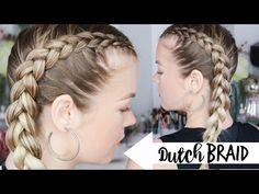 getlinkyoutube.com-How to Dutch Braid | Braiding 101