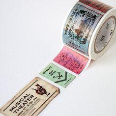 Ticket Washi Tape von Mt Masking Tape [Mt ex Reisen Washi Tape]