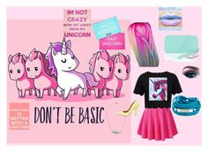 """""""Unicorn"""" by sofia-nagy on Polyvore featuring Ted Baker, Sharpie, Blooming Lotus Jewelry, Larkspur & Hawk, Mulberry, Minecraft, Pink, unicorn and unicornhair"""
