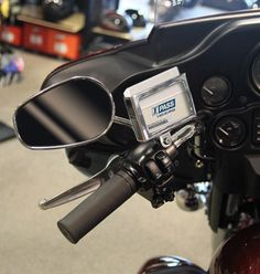 What a great idea!  I just bought one for hubby's bike:))