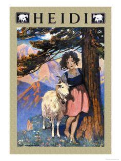 "Jessie Wilcox-Smith  ""Heidi"". Mom read this book to Scott and me when we were quite little."