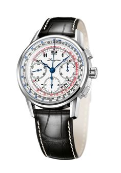 Longines' 180th Anniversary- the new Tachymeter Chronograph #luxurywatch #Longines-swiss Longines Swiss Watchmakers watches #horlogerie @calibrelondon