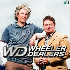 Welcome to Wheeler Dealers TV Take one canny car trader, a mechanical maestro, up to and a load of oil, sweat and know-how, and what have you got? Wheeler Dealers, Car Trader, Best Clips, Rusty Cars, Old Shows, Me Tv, Edd, New Life, Logo Inspiration