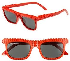 #MOSTLY HEARD RARELY SEEN #Eyewear                  #Mostly #Heard #Rarely #Seen #55mm #'Nanoblock' #Sunglasses #Size             Mostly Heard Rarely Seen 55mm 'Nanoblock' Sunglasses Red One Size                                       http://www.seapai.com/product.aspx?PID=5236583
