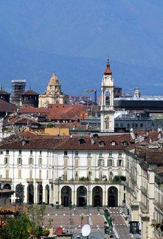 Piazza Vittorio - Turin, Piedmont, Italy