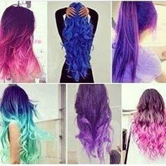 I could never pull off hair like this but I still love it.!!