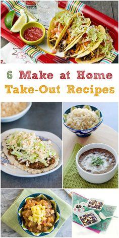Make at Home Vegan Take-Out Recipes