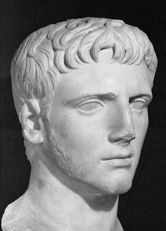 OCTAVIAN. The man who would later become the emperor Augustus is shown with a beard as a sign of mourning for Julius Caesar. (Erich Lessing/Art Resource, NY)