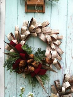 Wreaths for any ocassion, hand made in NW Montana by a gifted artisan. Check out the other photos in the album.