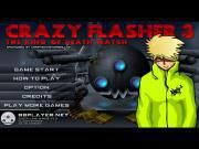 Children are not welcomed to enjoy Crazy Flasher 3 as the game features a bloody fight! So please make sure that your age is over 18 by the time of opening it. Entering the main screen it's easy to enjoy many fierce cliffhangers. Let's go! Remember Andy and his other adventures in Crazy Flasher series?