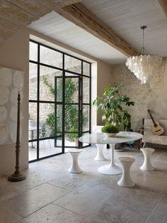 Magnífica casa de campo de paredes de piedra