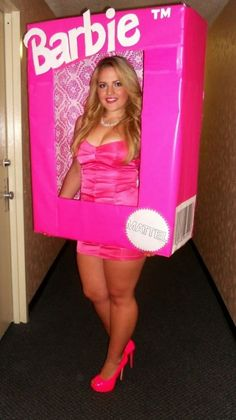 DIY Barbie Costume  sc 1 st  Pinterest & The 53 best Barbie Halloween images on Pinterest | Barbie doll ...