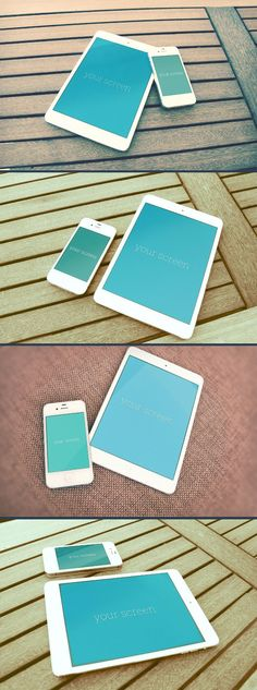 free-psd-iphone-ipad-photorealistic-mockup