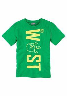Produkttyp , T-Shirt, |Qualitätshinweise , Hautfreundlich Schadstoffgeprüft, |Materialzusammensetzung , Obermaterial: 100% Baumwolle, |Material , Jersey, |Cotton made in Africa , Mit dem Kauf unterstützen Sie den nachhaltigen Baumwollanbau, |Farbe , Grün, |Passform , Basic-Form, |Schnittform/Länge , gerade, |Ausschnitt , Rundhals, |Ärmelstil , Kurzarm, |Armabschluss , Kante abgesteppt, |Saumabs...