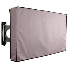 """20/""""-70/"""" TV Cover Outdoor Gear Black Waterproof Protector LCD LED Plasma Coat New"""