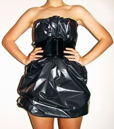 sexy trash bag? anything but clothes party