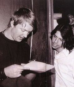 Josh and Dave  #JoshuaHomme #QueensOfTheStoneAge #DaveGrohl