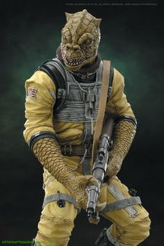 """The remorseless Bossk (whose name translates to """"devours his prey"""" in his native Trandoshan tongue) is a hunter with a reputation feare. Nave Star Wars, Star Wars Rpg, Star Wars Characters Pictures, Star Wars Images, Chasseur De Primes, Star Wars Species, Star Wars Bounty Hunter, Star Wars Personajes, Imperial Assault"""