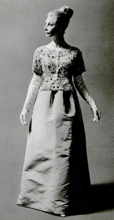 House of Balenciaga Evening Ensemble, 1964